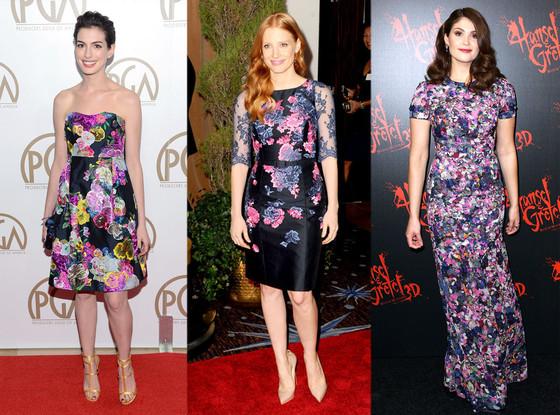 Anne Hathaway, Jessica Chastain, Gemma Arterton