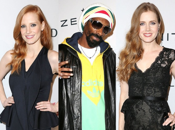 Snoop Dogg, Jessica Chastain, Amy Adams