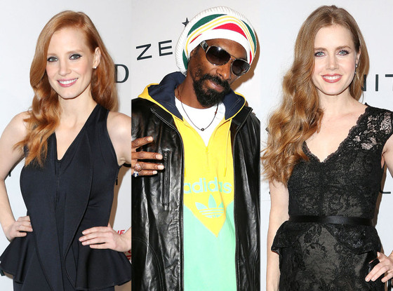 Snoop Dogg, Jessica Chastain, Amy Adams