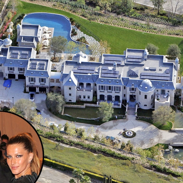Tom brady gisele b ndchen from celebrity mega mansions for Super mega mansions