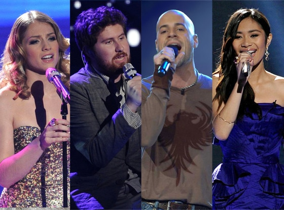 Chris Daughtry, Jessica Sanchez, Casey Abrams, Didi Benami