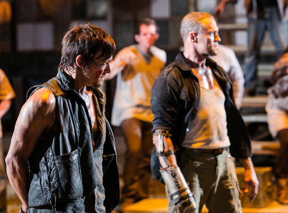 The Walking Dead, Norman Reedus, Michael Rooker