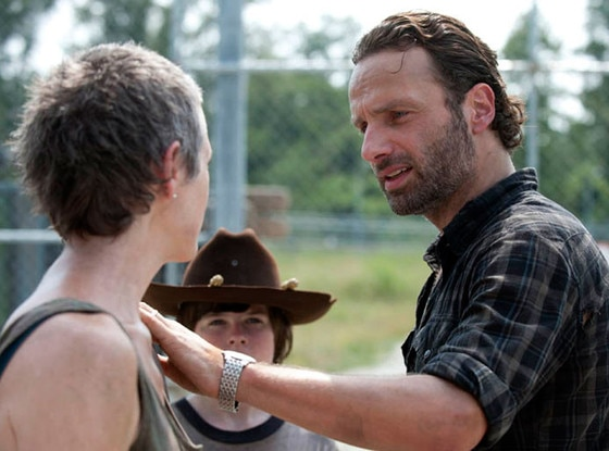 The Walking Dead, Melissa McBride, Chandler Riggs