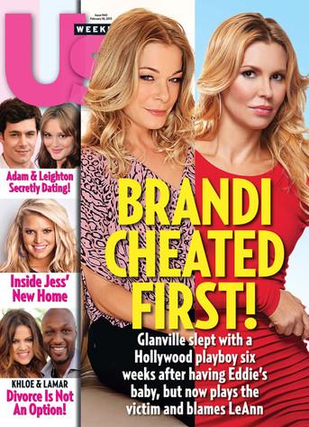 Us Weekly Cover, LeAnn Rimes, Brandi Glanville