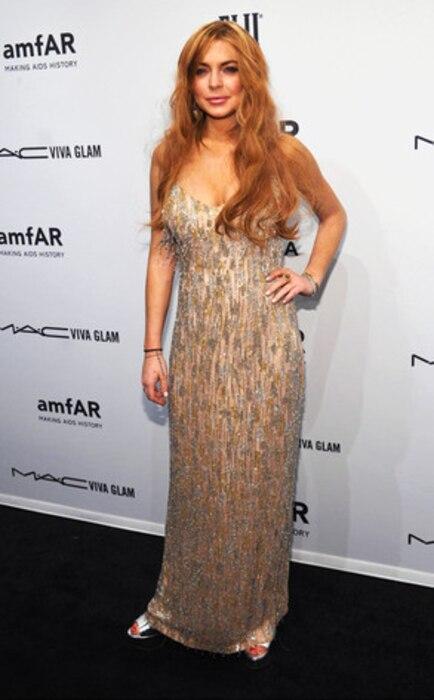 Lindsay Lohan, amFar