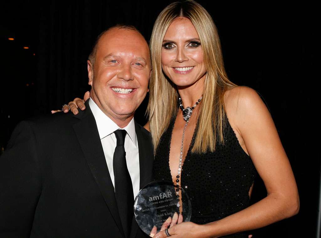 Michael Kors, Heidi Klum, Fashion Besties