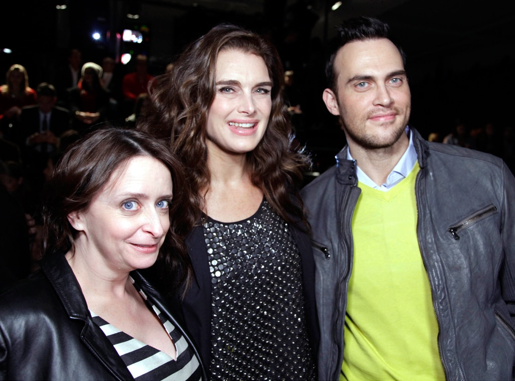 Rachel Dratch, Brooke Shields, Mercedes-Benz Fashion Week