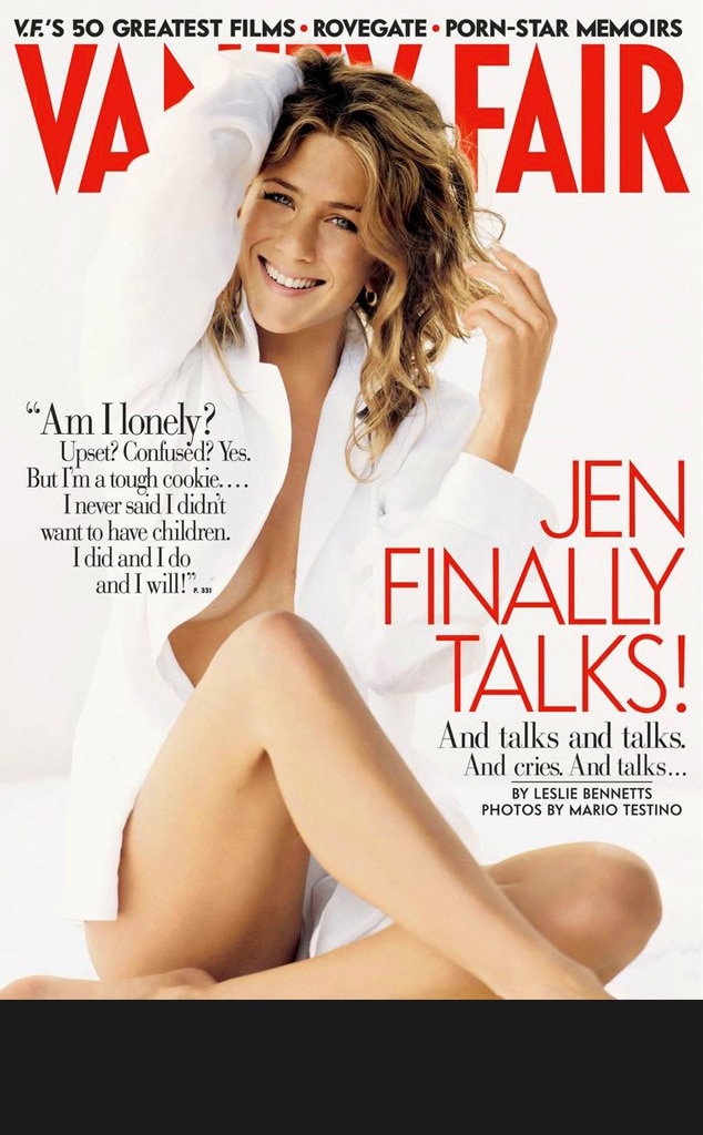 Jennifer Aniston, Vanity Fair Cover