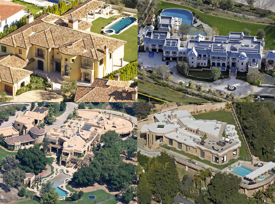 32 incredible celebrity mega mansions selena gomez for Super mega mansions