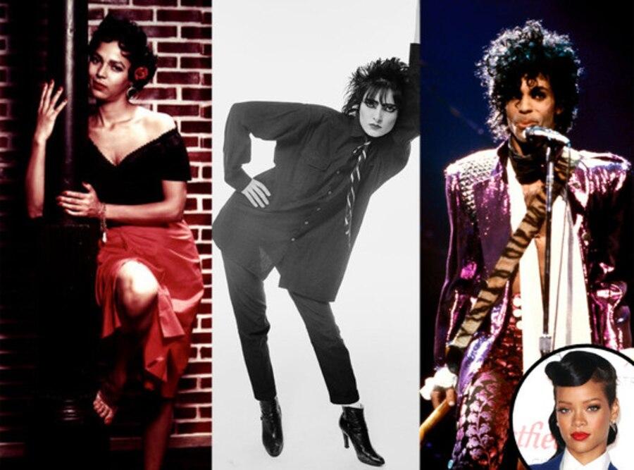 Rihanna, Carmen Jones, Dorothy Dandridge, Siouxsie Sioux, Prince