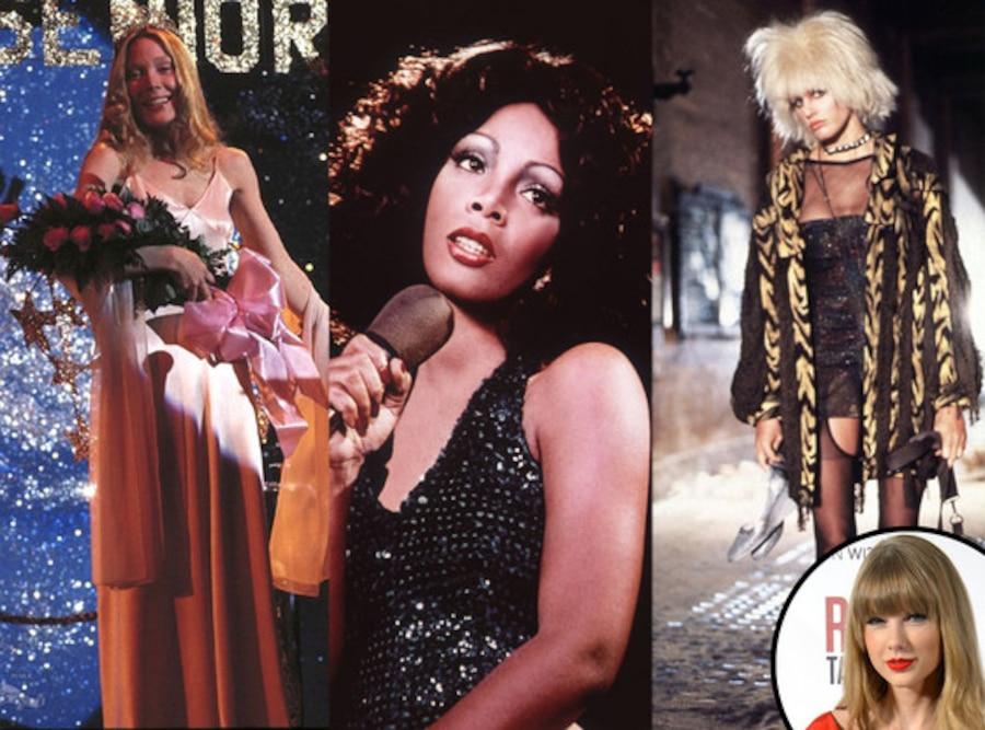 Taylor Swift, Carrie, Sissy Spacek, Donna Summer, Daryl Hannah, Bladerunner