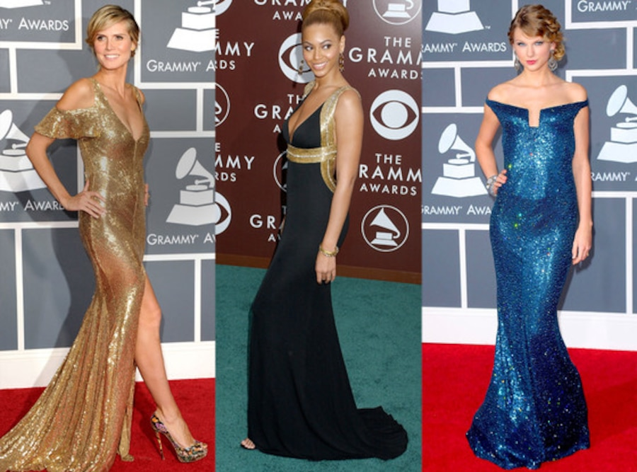 Heidi Klum, Beyonce, Taylor Swift