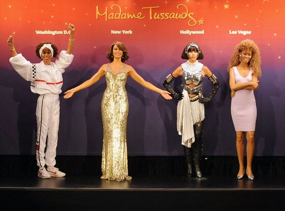 Whitney Houston, Wax Figure