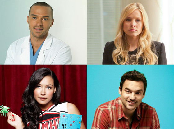 Jesse Williams, Kristen Bell, Jake Johnson, Naya Rivera