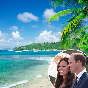 Prince William, Kate Middleton, Mustique