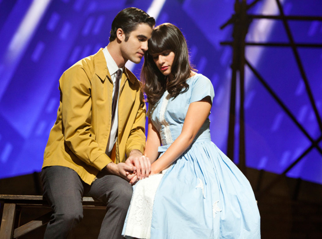 Glee, Darren Criss, Lea Michele