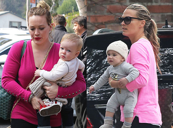 Molly Sims, Brooks, Hilary Duff, Luca