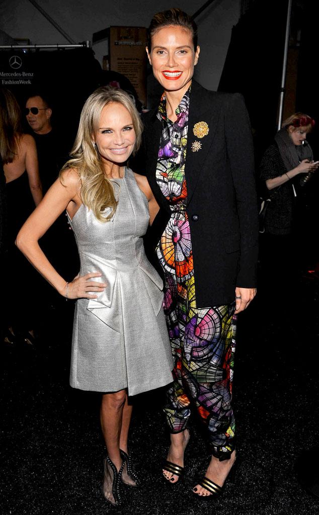 Kristin Chenoweth, Heidi Klum