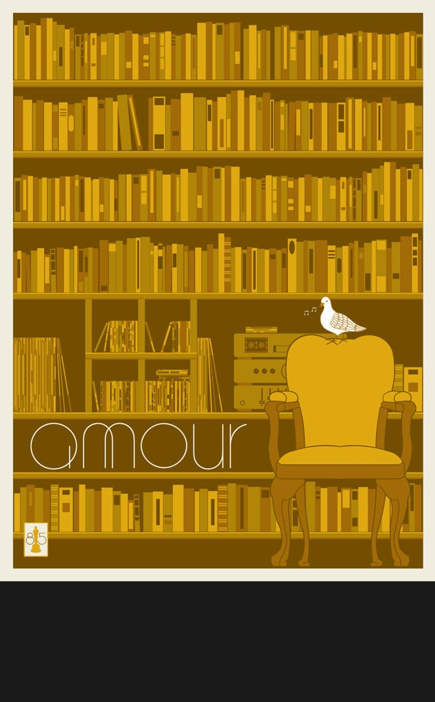 Amour, Oscar Commission Poster