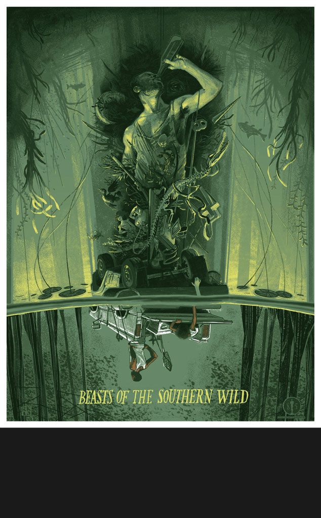 BEASTS OF THE SOUTHERN WILD, Oscar Commission Poster