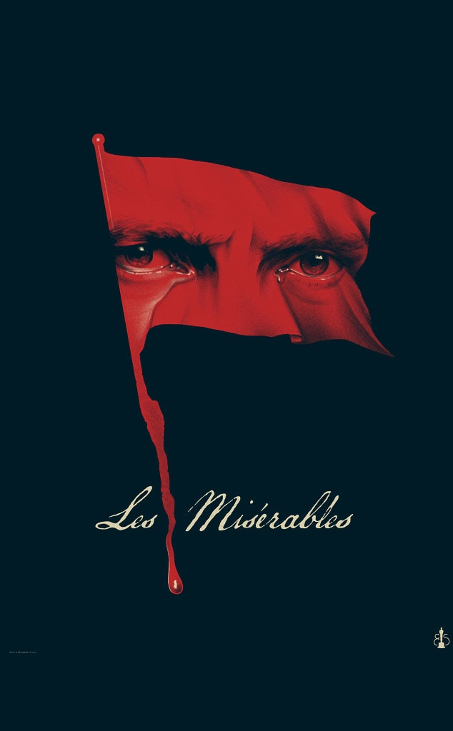 LES MISÉRABLES, Oscar Commission Poster