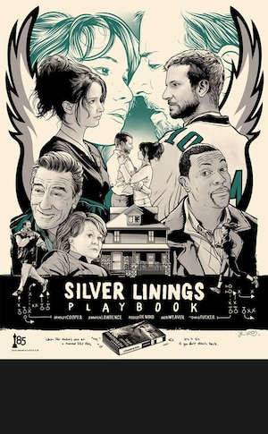 SILVER LININGS PLAYBOOK, Oscar Commission Poster