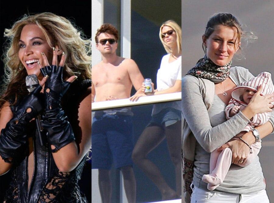 Beyonce, Leonardo DiCaprio, Gisele Bundchen, Vivian