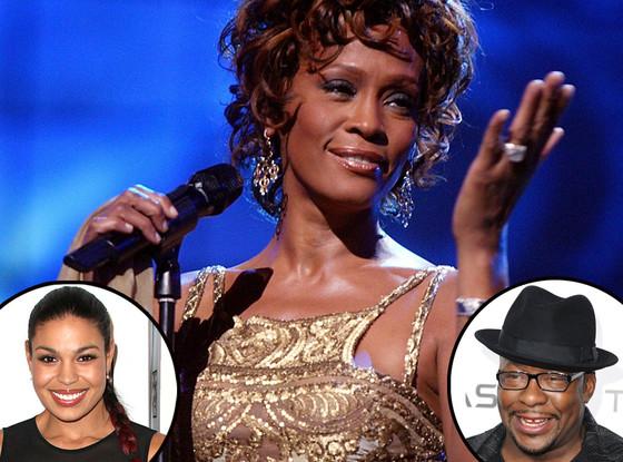 Whitney Houston, Bobby Brown, Jordin Sparks