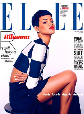 Rihanna, UK ELLE