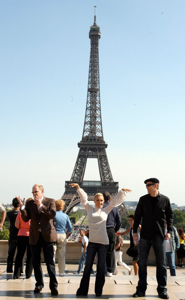 Hayden Panettiere, Eiffel Tower
