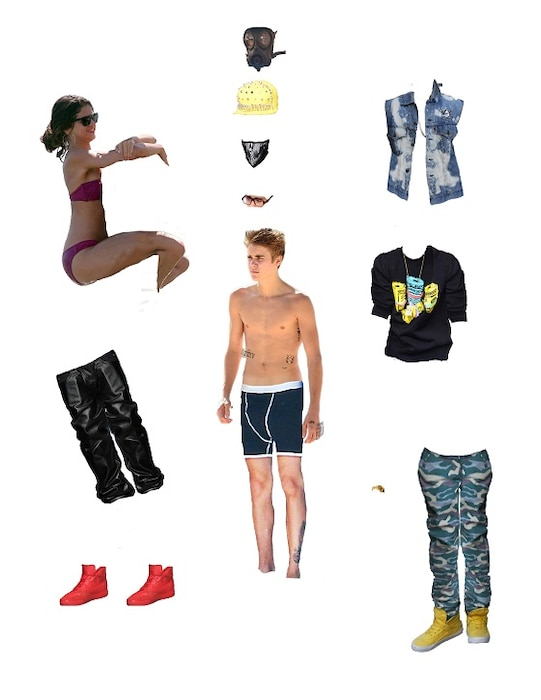 Bieber Paper Doll