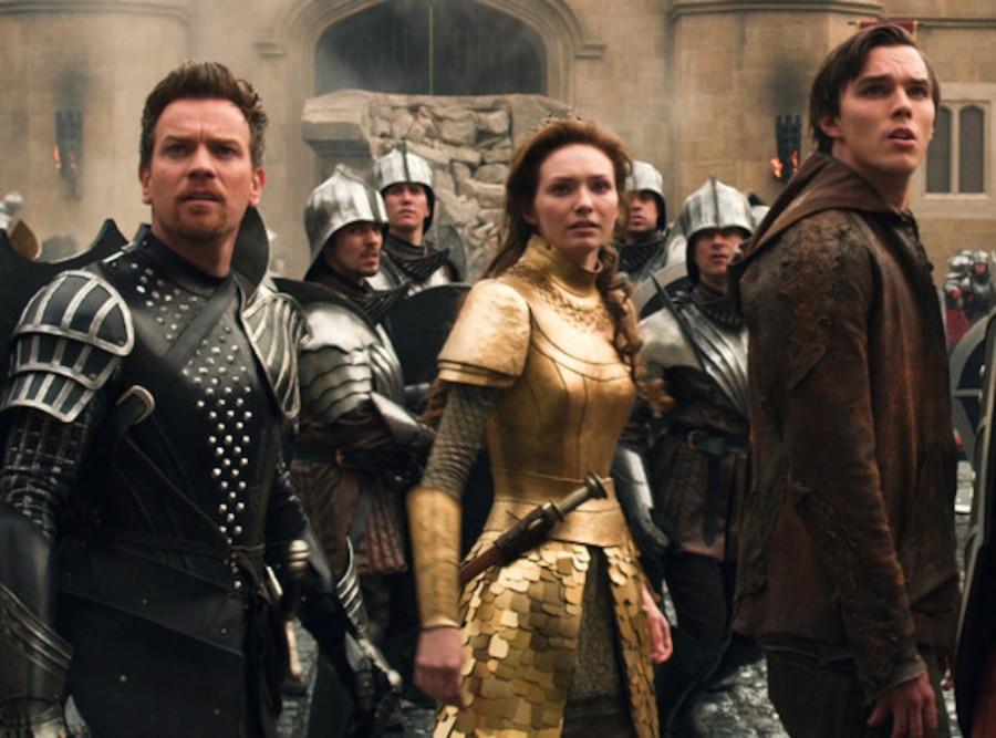 Ewan McGregor, Nicholas Hoult, Eleanor Tomilson, Jack and the Giant Slayer