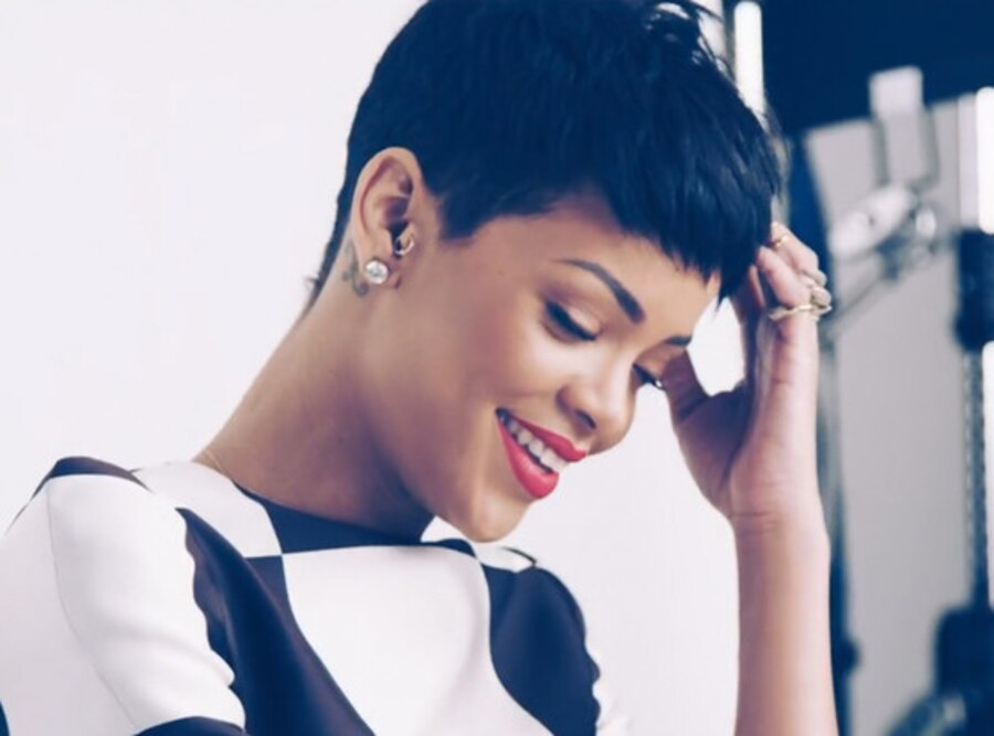 Rihanna, Elle UK Video