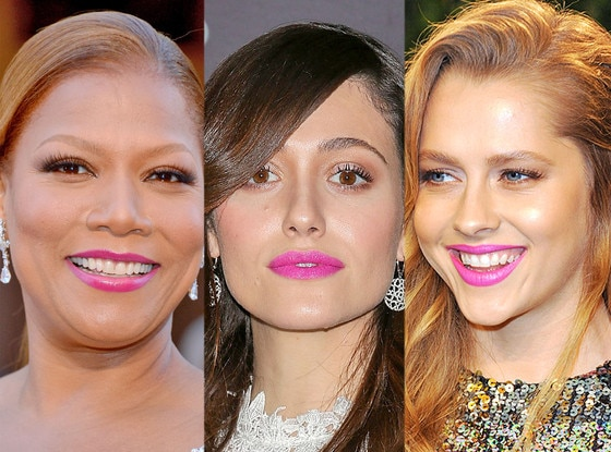 Pink Lips, Queen Latifah, Emmy Rossum, Teresa Palmer