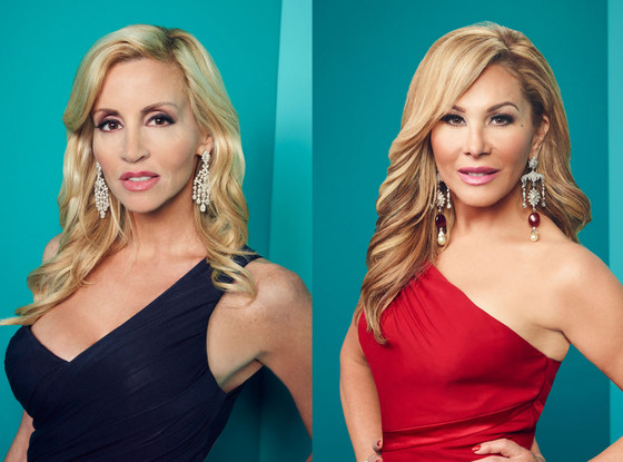 Camille Grammer, Adrienne Maloof,The Real Housewives of Beverly Hills