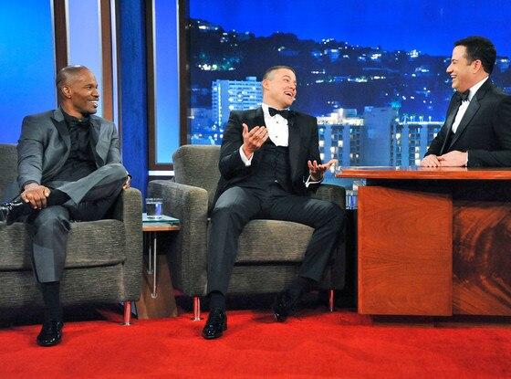 Jimmy Kimmel Live, Jamie Foxx, Channing Tatum