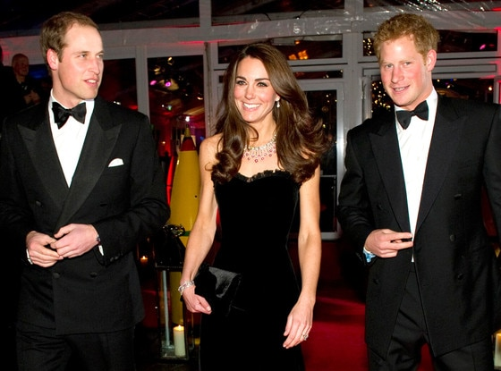 William, Duke of Cambridge, Catherine, Duchess of Cambridge, Prince Harry, Kate Middleton