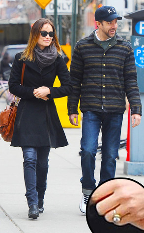 Olivia Wilde, Jason Sudeikis, Ring