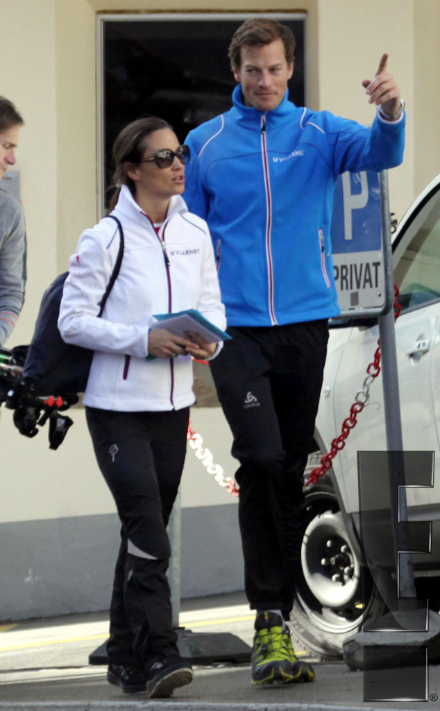 Pippa Middleton, Nico Jackson, Exclusive