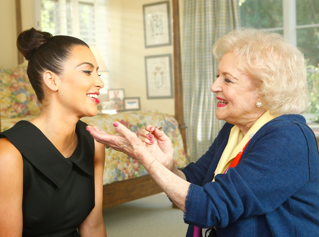 Kim Kardashian, Betty White, Off Their Rockers