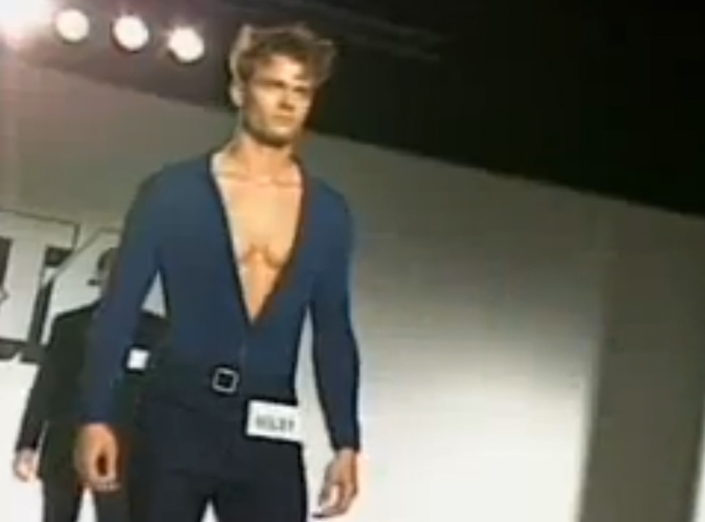 Josh Duhamel from Stars' Early Modeling Pictures