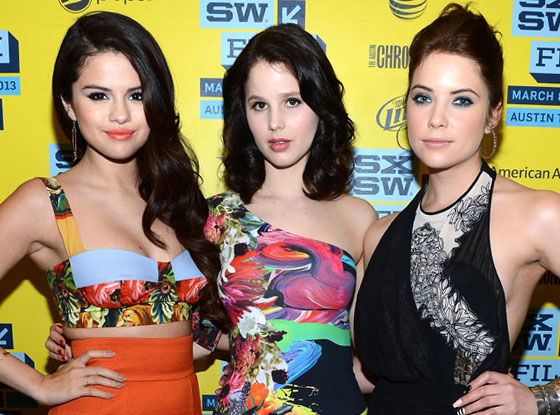 Selena Gomez, Rachel Korine, Ashley Benson, SXSW