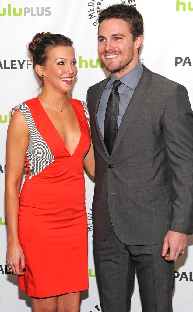 Katie Cassidy, Stephen Amell