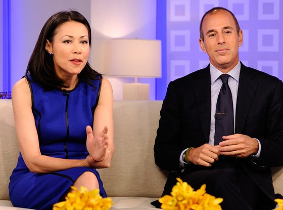 Ann Curry, Matt Lauer, Today Show