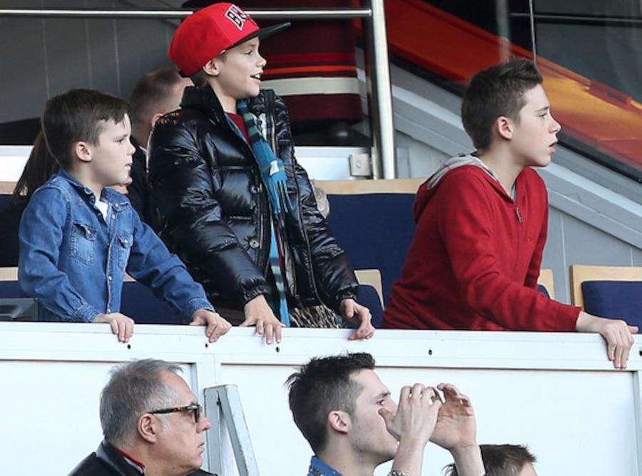 Cruz Beckham, Romeo Beckham, Brooklyn Beckham