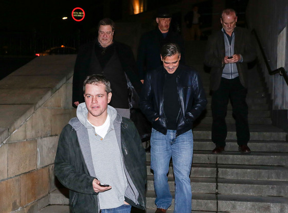 George Clooney, Matt Damon, John Goodman, Bill Murray