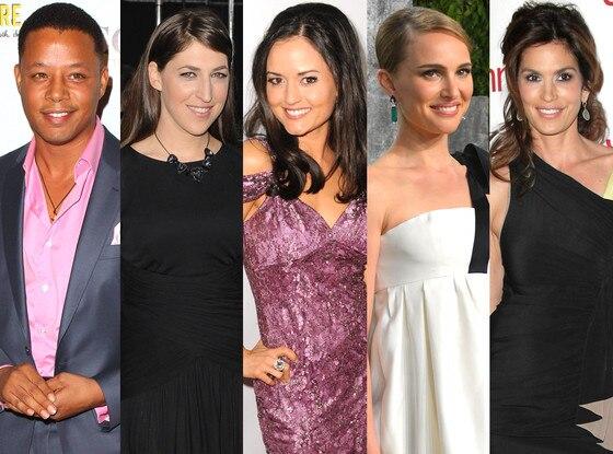 Pi Day Celeb Mathletes, Natalie Portman, Mayim Bialik, Terence Howard, Danica McKellar, Cindy Crawford
