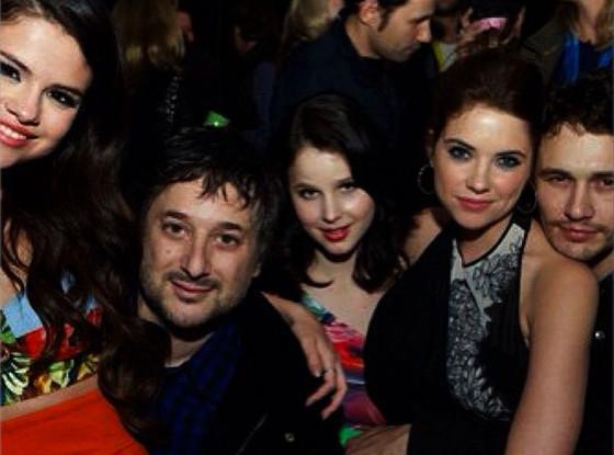 Selena Gomez, Ashley Benson, Harmony Korine, Rachel Korine, James Franco