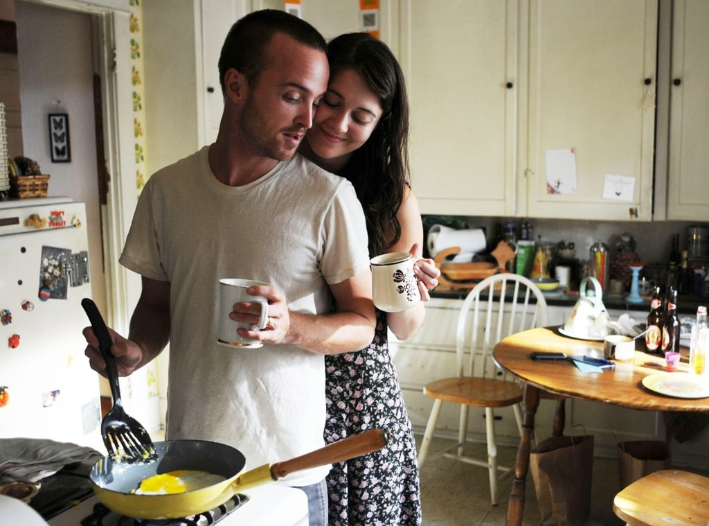 Aaron Paul, Mary Elizabeth Winstead, Smashed