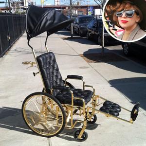 Lady Gaga, Wheelchair